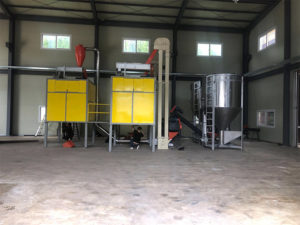 Electrostatic separator installed in Korea