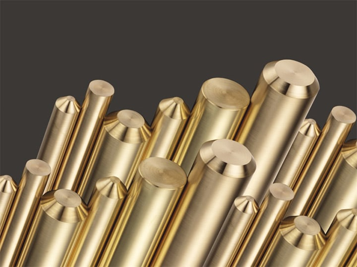 different kinds of yellow brass